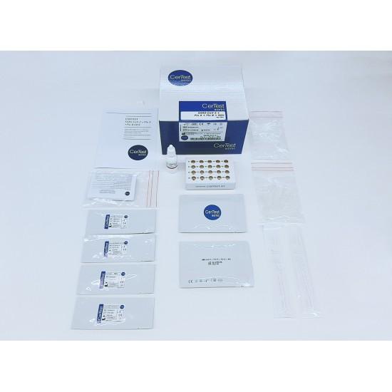 SARS-CoV-2 + Flu A + Flu B + RSV Combo Quad Card